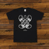 TDF Skateboard Black Cotton Tee