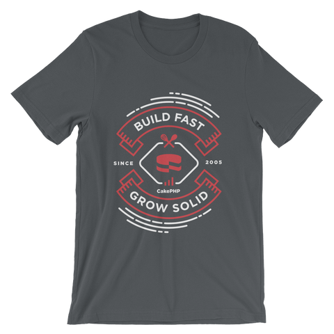 Build Fast, Grow Solid - Gray