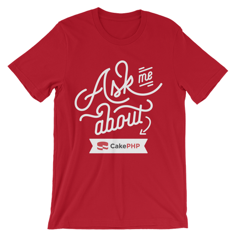 Ask Me About CakePHP - Red
