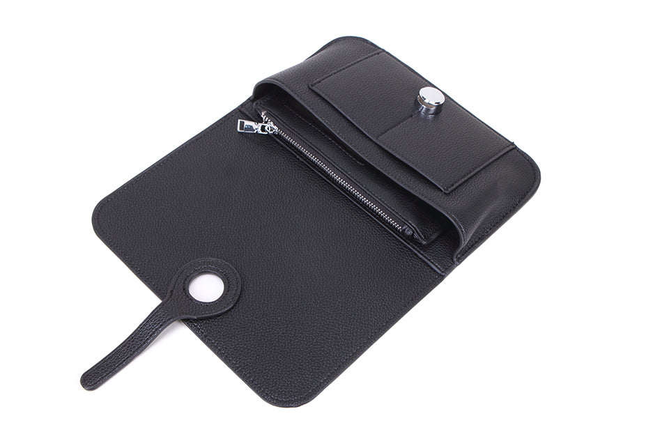 Black Wallet and Coin Purse