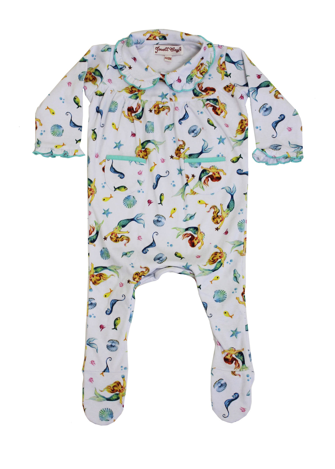 powell craft Mermaid baby Jumpsuit