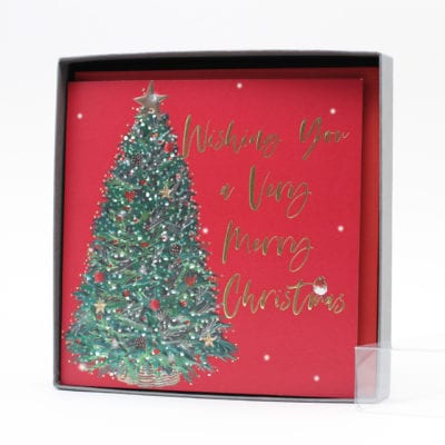 Belly Button Luxury Boxed Cards Tree