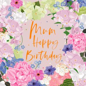belly button designs mum happy birthday in gold foil card