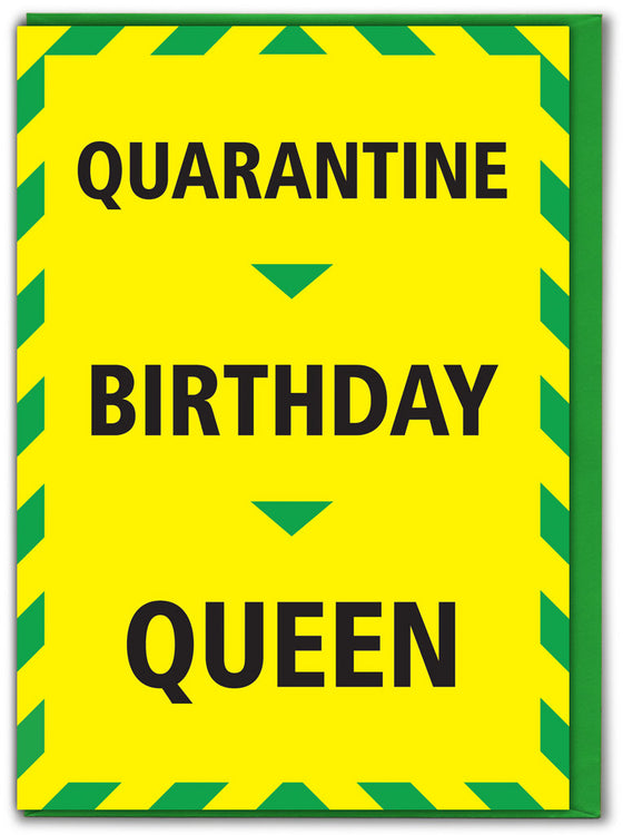 quarantine birthday queen
