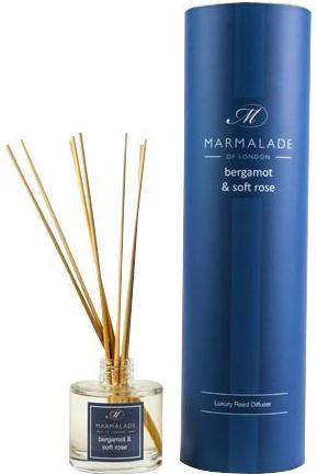 Marmalade of London Bergamot & Soft Rose Reed Diffuser