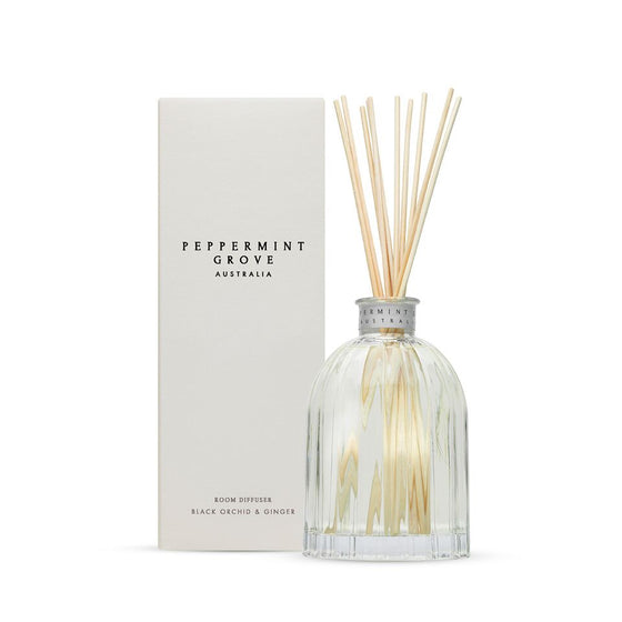 Peppermint Grove Black Orchid and Ginger Diffuser 200ml
