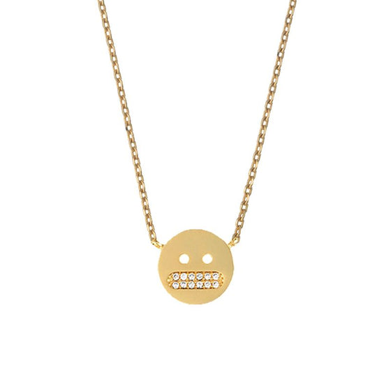 Estella Positive Vibes Necklace Gold Plated