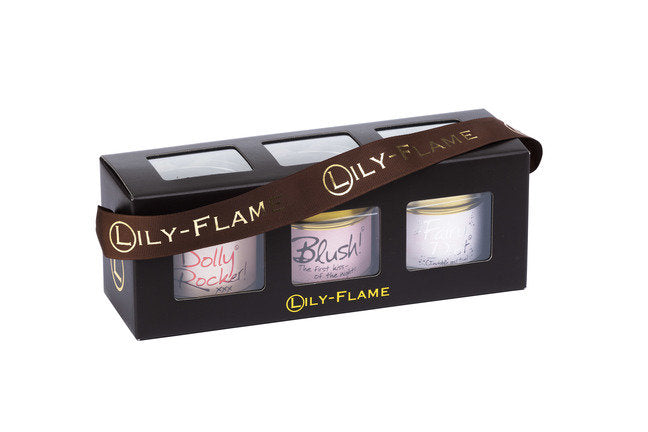 Lily Flame Girly 1 mini gift set  Scented Candles