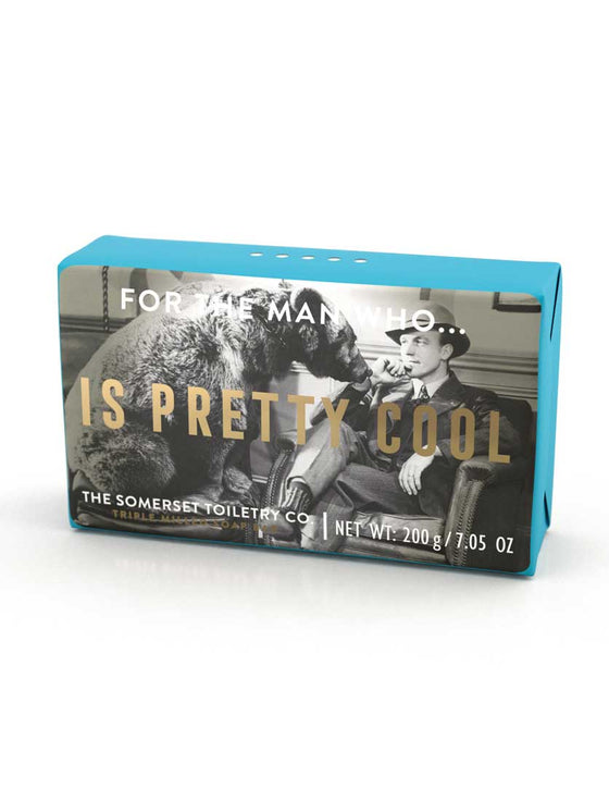 Somerset Toiletries Soap - For The Man Who Is Pretty Cool
