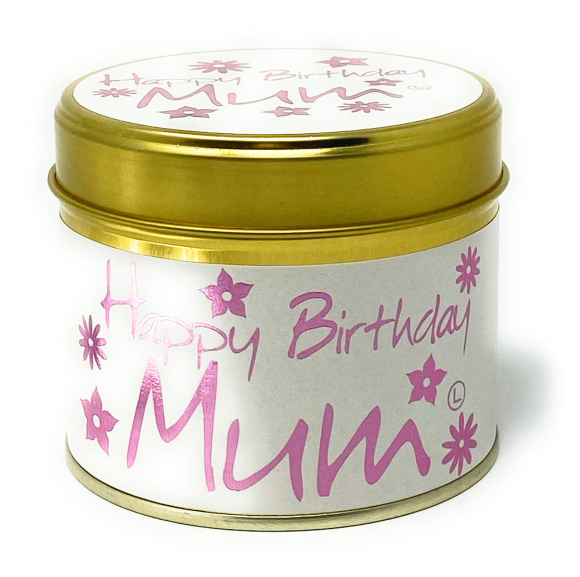 Lily Flame Happy birthday Mum Scented Candle