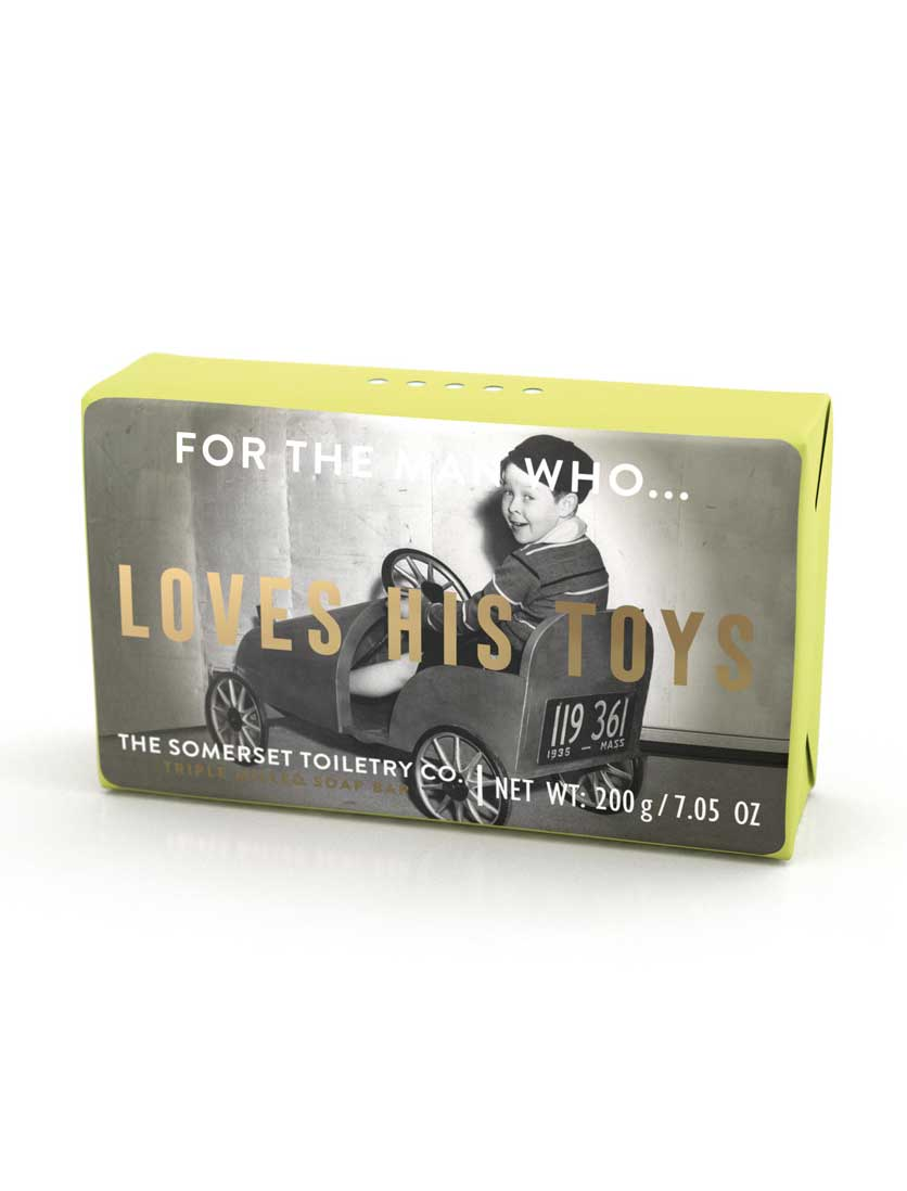 Somerset Toiletries Soap - For The Man Who Loves His Toys