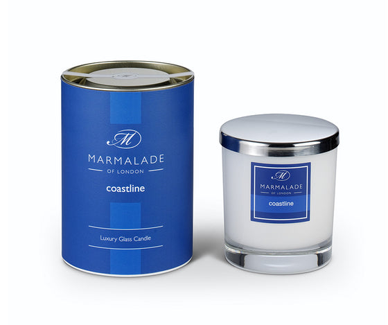 Marmalade of London Coastline Glass Candle 50hrs