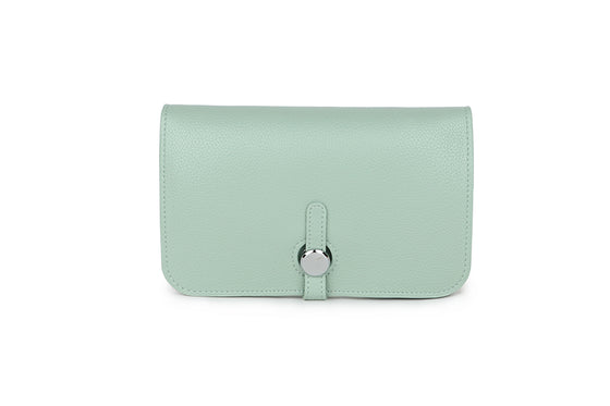 Mint Green Wallet and Coin Purse