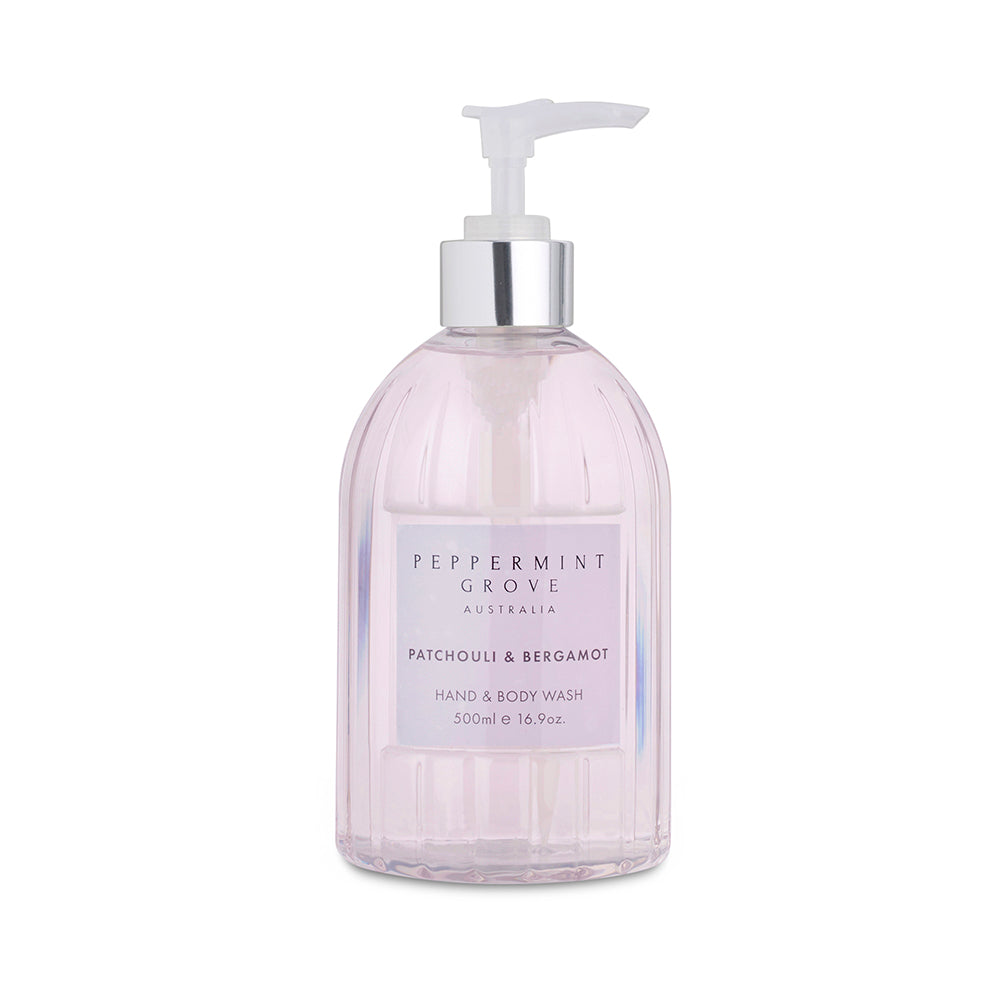 Peppermint Grove Patchouli & Bergamot Hand Wash 500ml