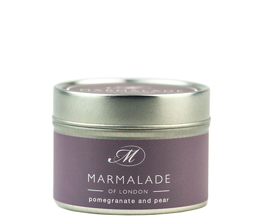 Marmalade of London Pomegranate & Pear Small Tin 20 hrs