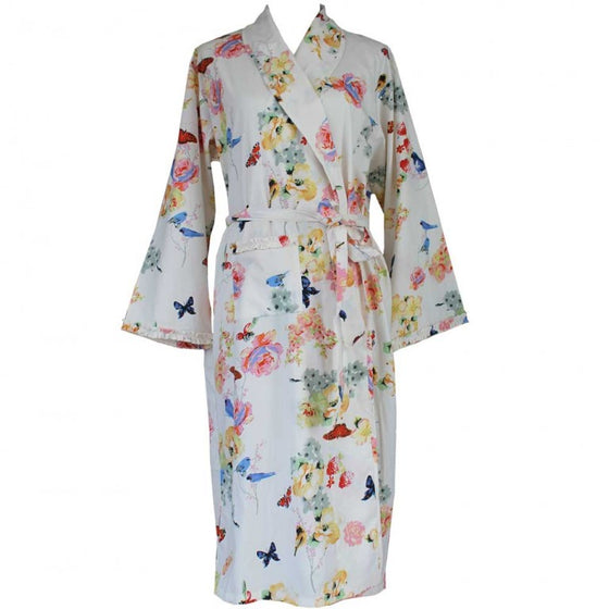 Secret Garden Cotton Dressing Gown