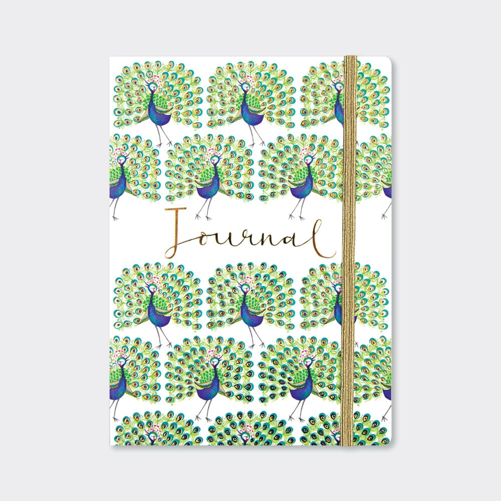 Peacock A5 Journal