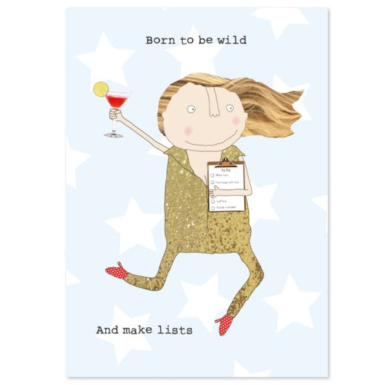 Rosie Made a Thing Born to be Wild Notebook