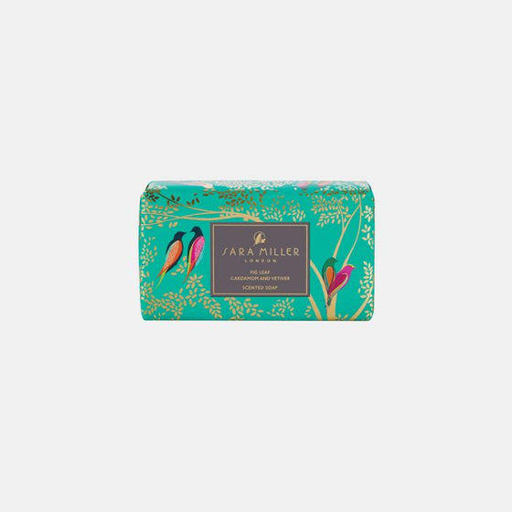 Sara Miller Green Birds Scented Soap