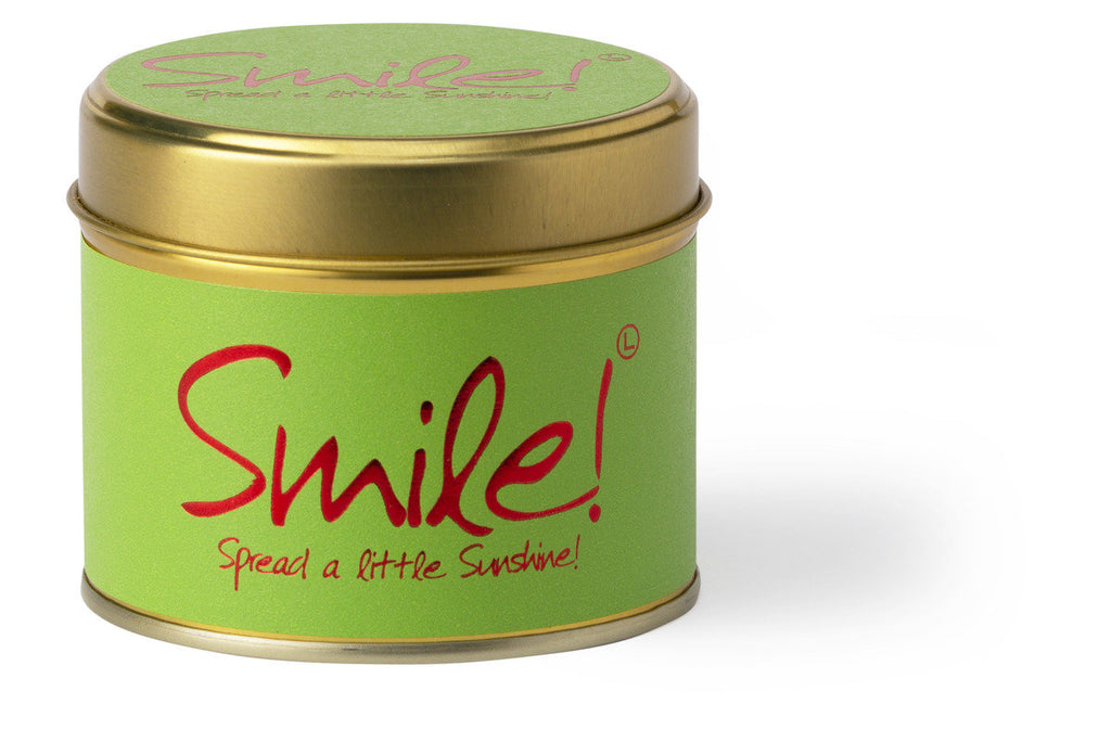 Lily Flame Smile Scented Candle