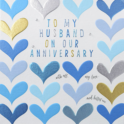 wendy jones blackett husband anniversary hearts