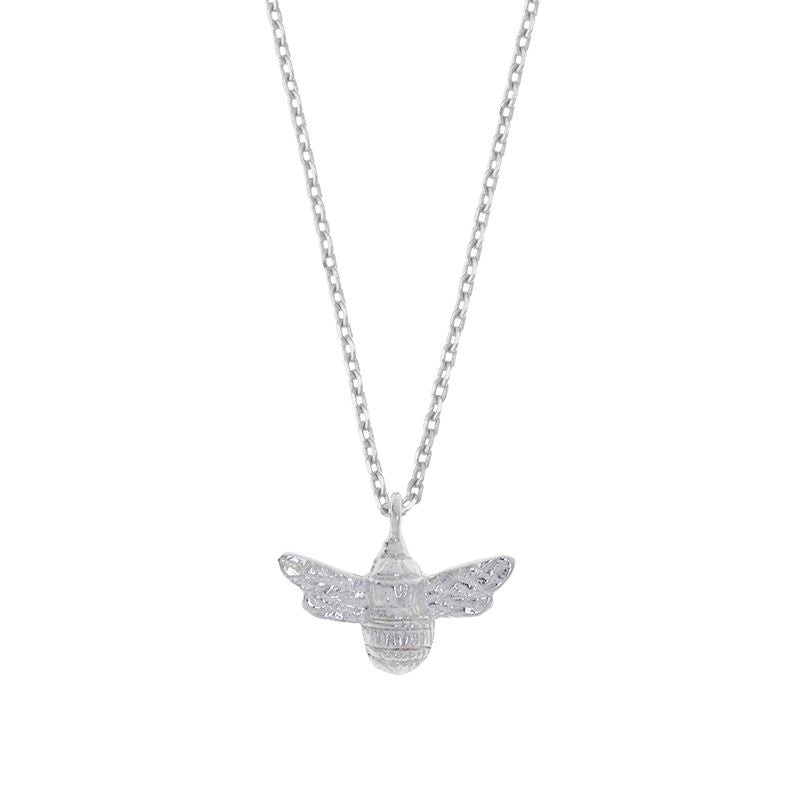 Estella Bartlett Silver Plated Bee Necklace