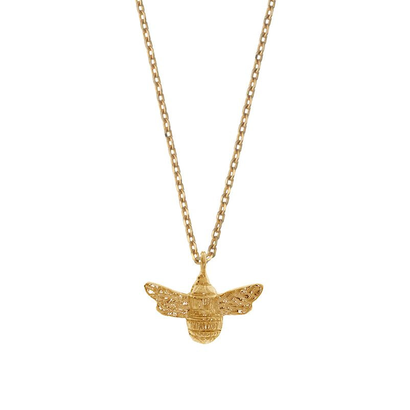 Estella Bartlett Bee Necklace Gold Plated