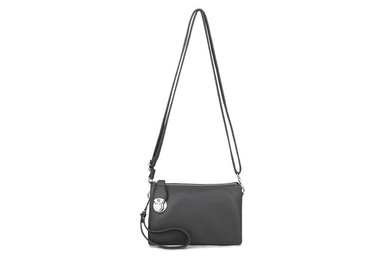 Three Way Grey Cross Body Bag