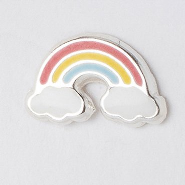 Crumble & Core Sterling Silver Rainbow Boxed Earring Card