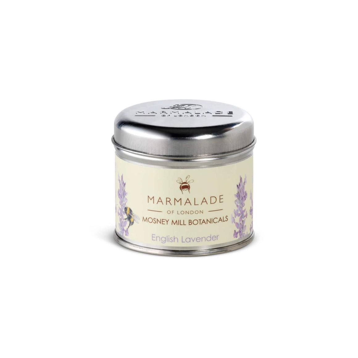 Mosney Mill English Lavender Tin Candle Medium