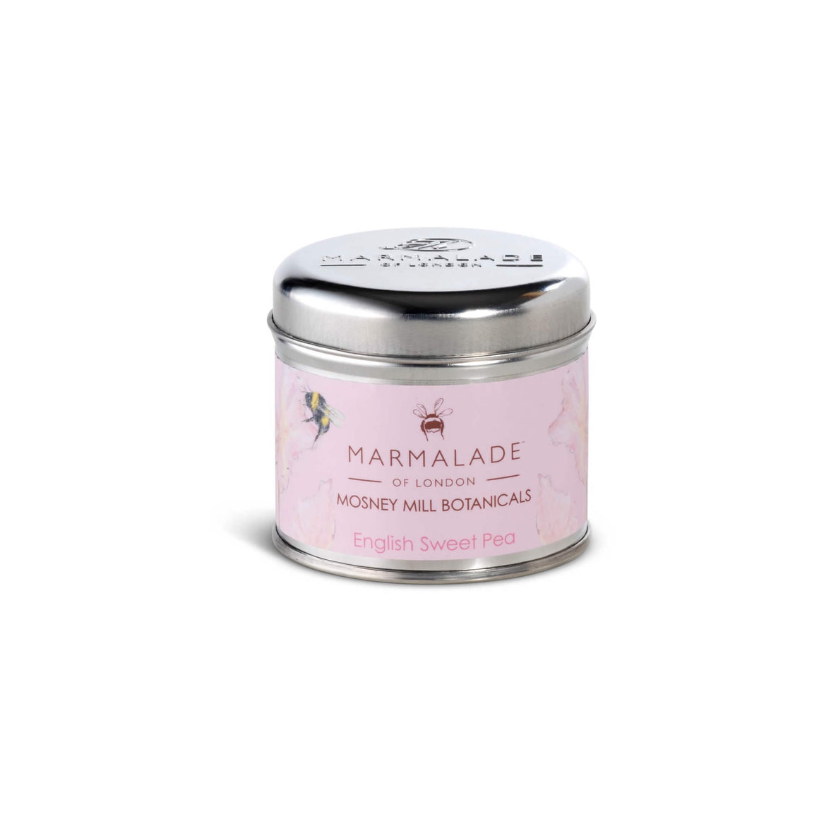 Mosney Mill English Sweet Pea Tin Candle Medium