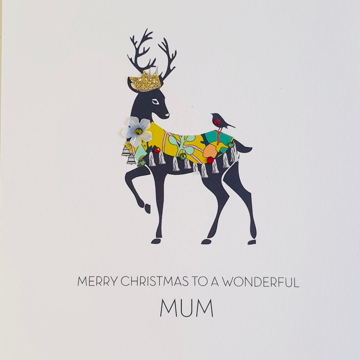 Five dollar shake Mum Christmas card