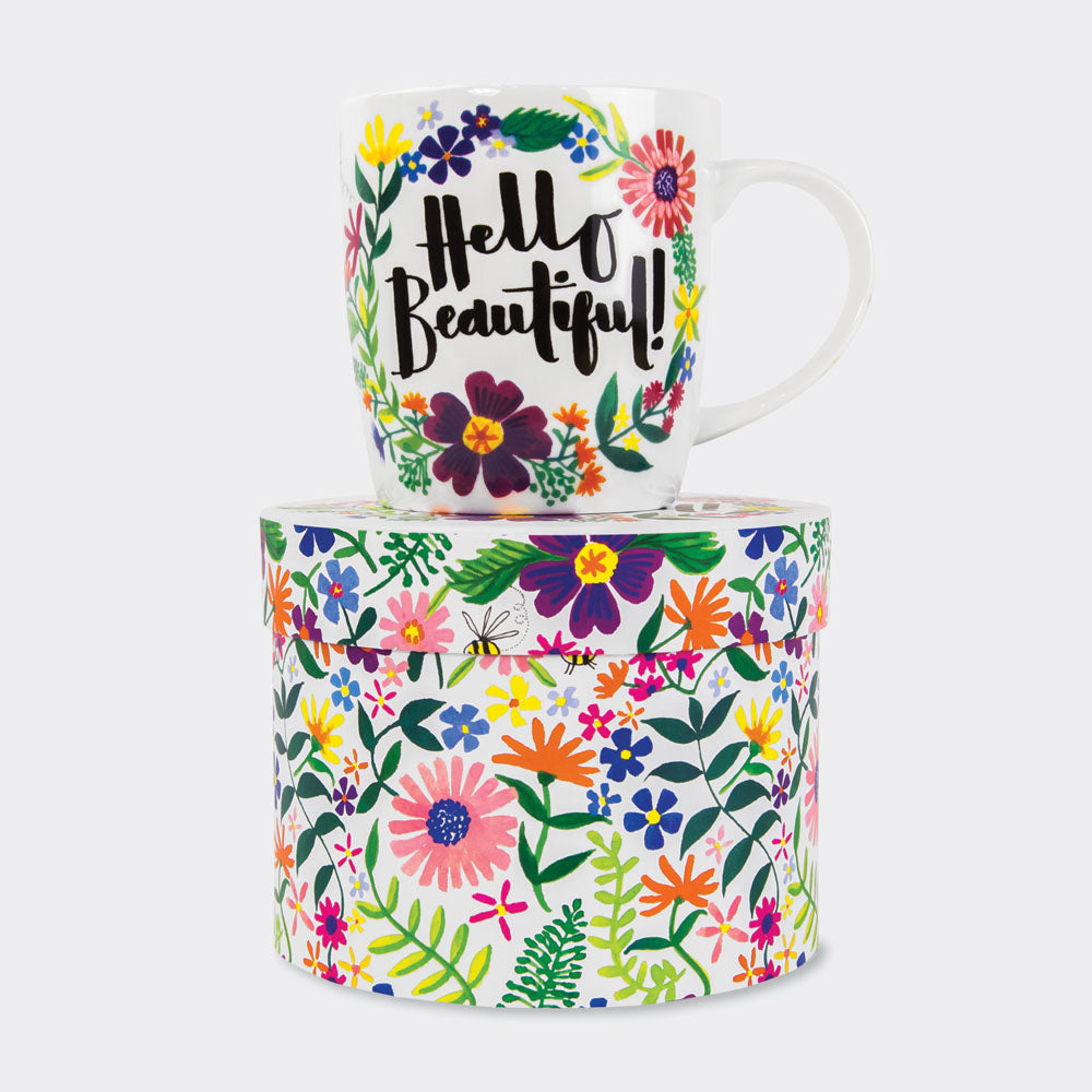 China Mug - Hello Beautiful