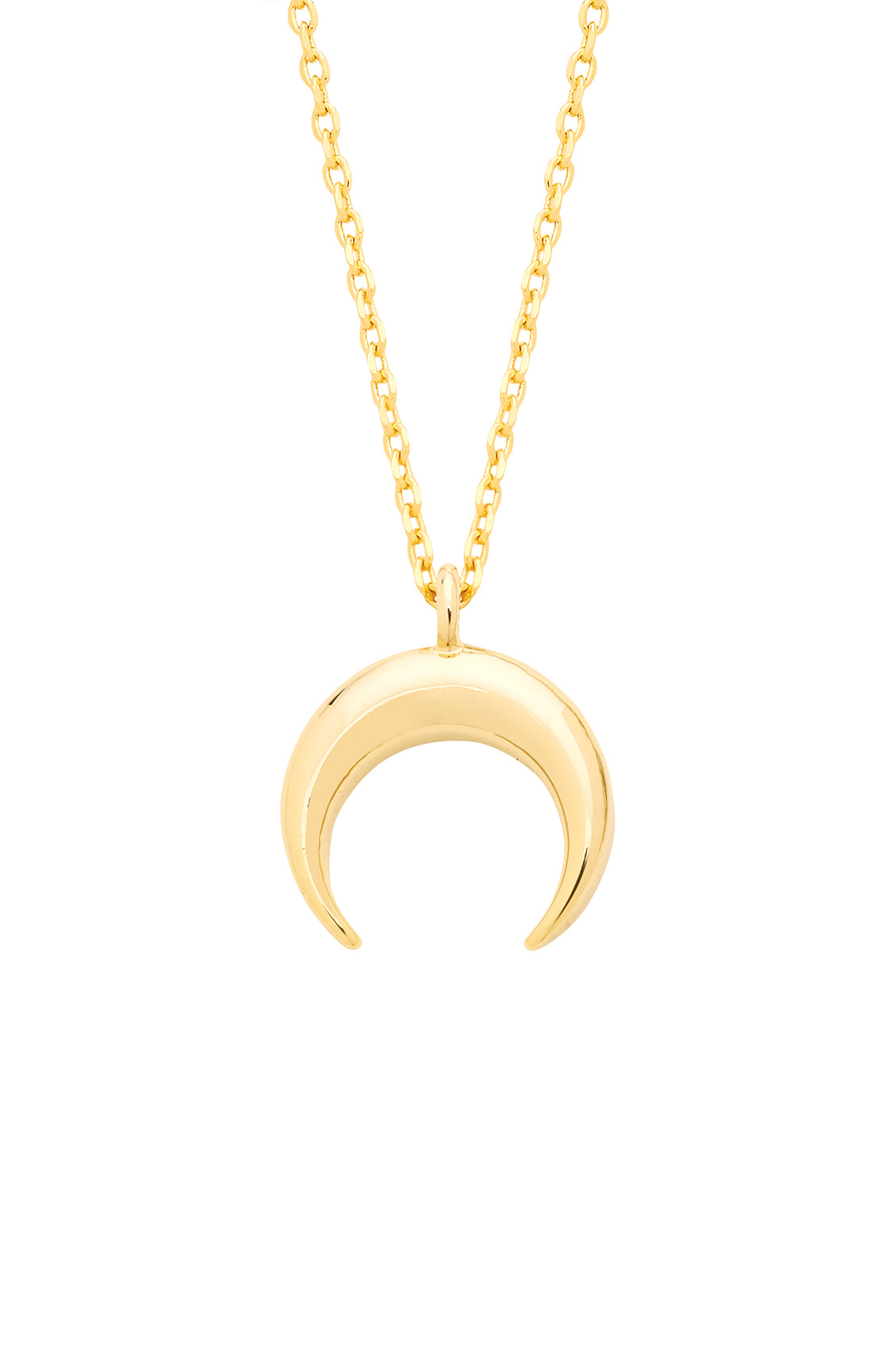 Estella Bartlett Mini Horn Necklace Gold Plated