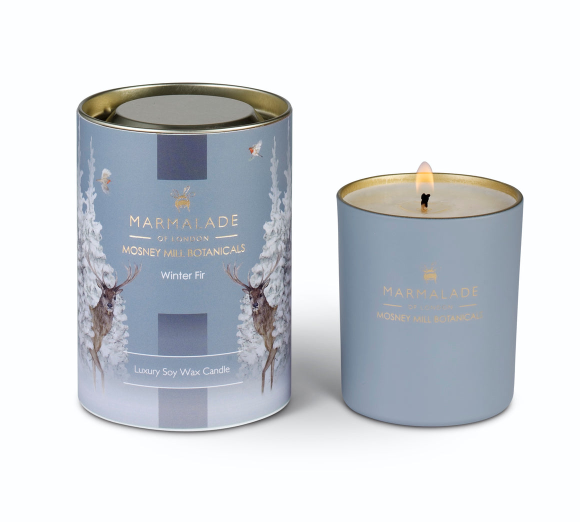 Marmalade of London Mosney Mill Botanicals Winter Fir Glass Candle