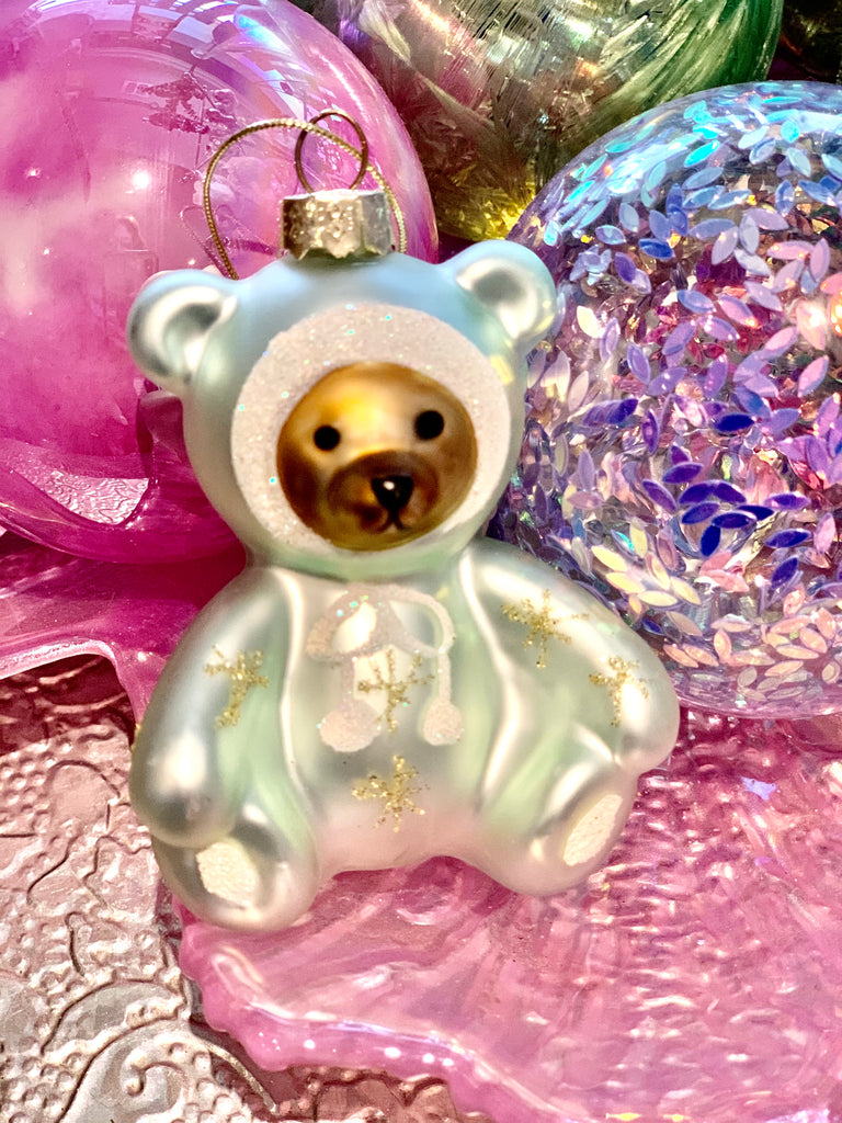 Baby's First Christmas Teddy Tree Decoration