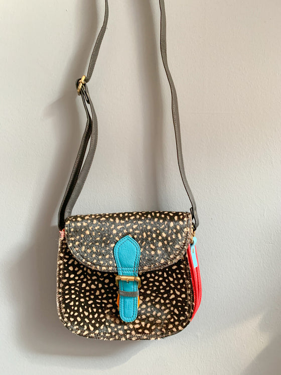Soruka Merriti Full Leopard Print Leather Bag