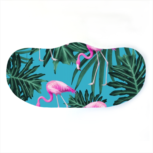 Face Mask - Pink Flamingos