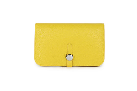Lemon Yellow Wallet and Coin Purse