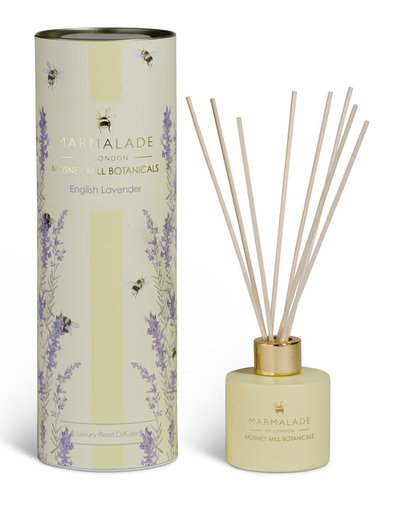 Marmalade of London Mosney Mill diffuser English lavender  diffuser with lavender and bees