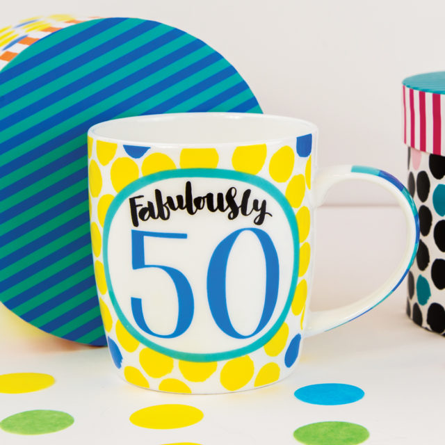 China Mug - Fabulously 50