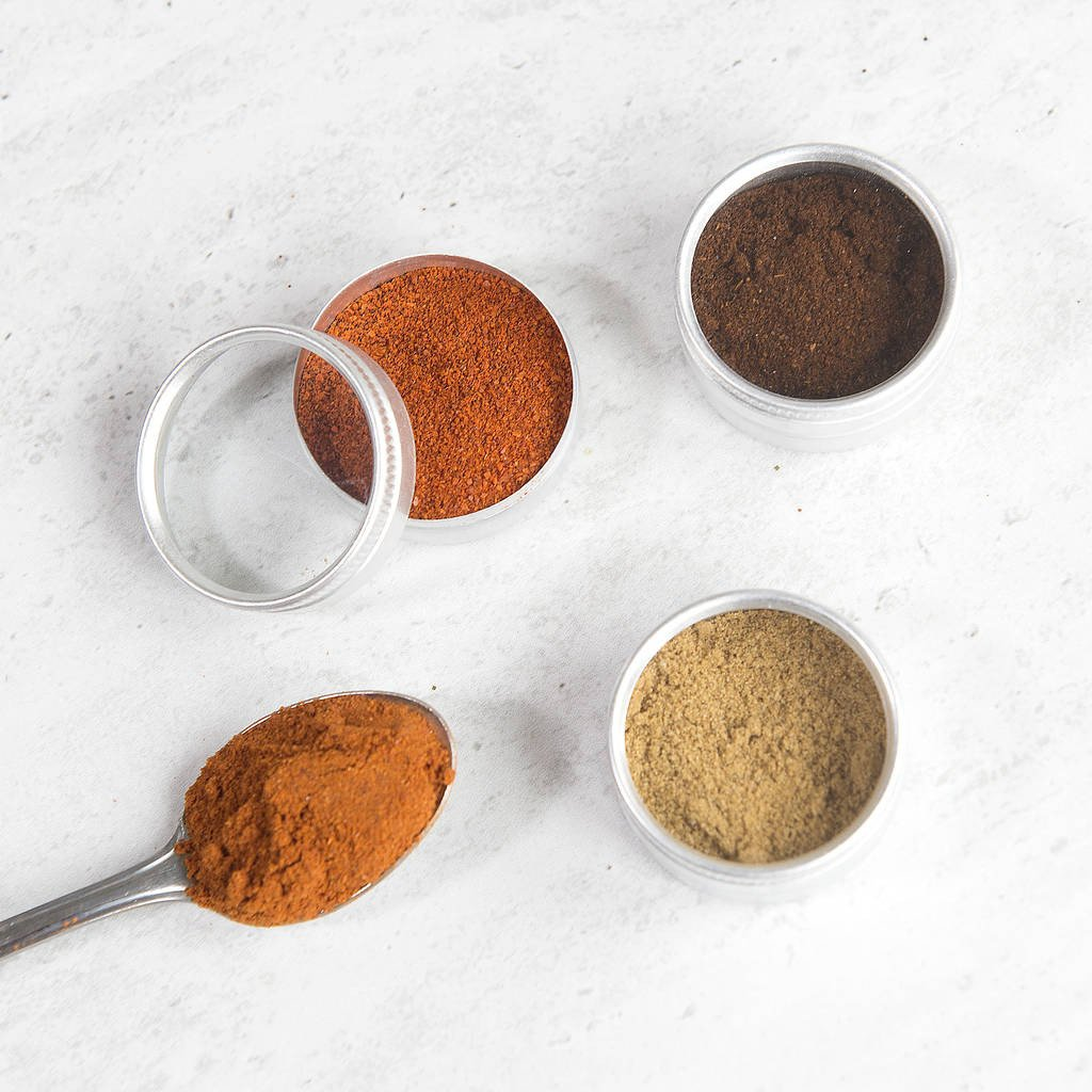 Indian Spice Powder Collection
