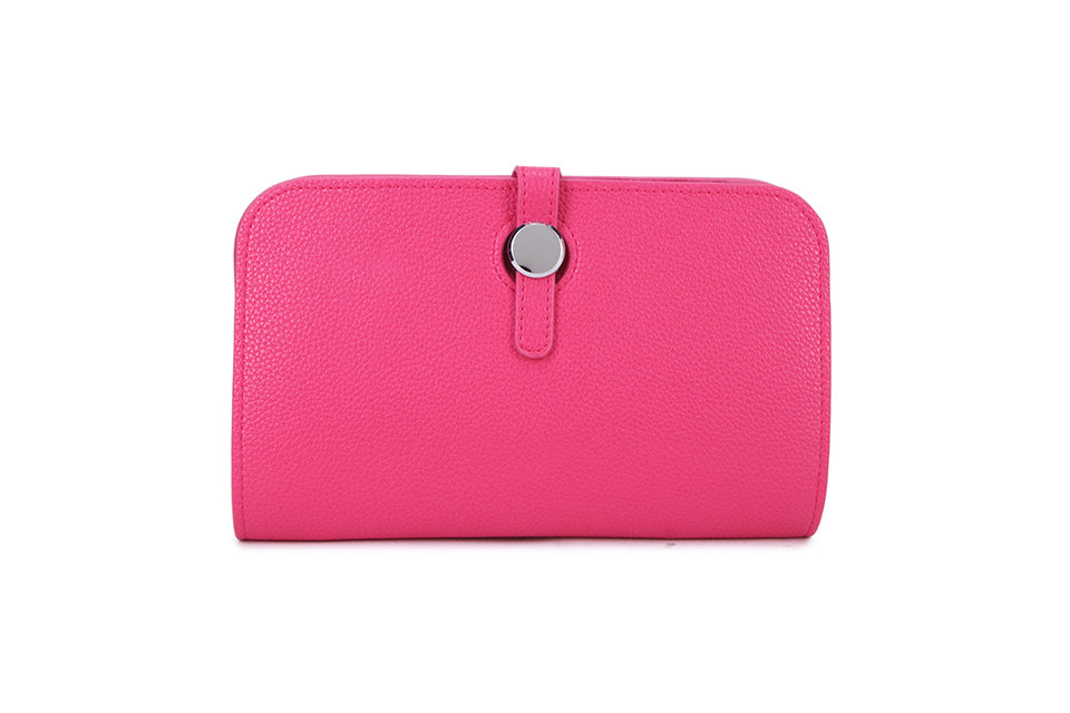 Pink Wallet and Coin Purse