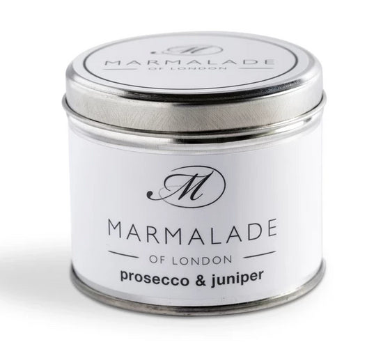Marmalade of London Prosecco & Juniper Medium Tin 40 hrs