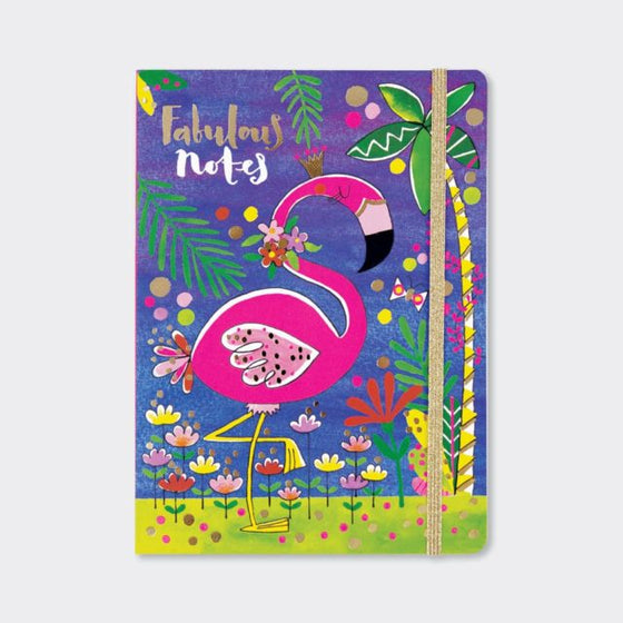 fabulous notes flamingo notebook A5