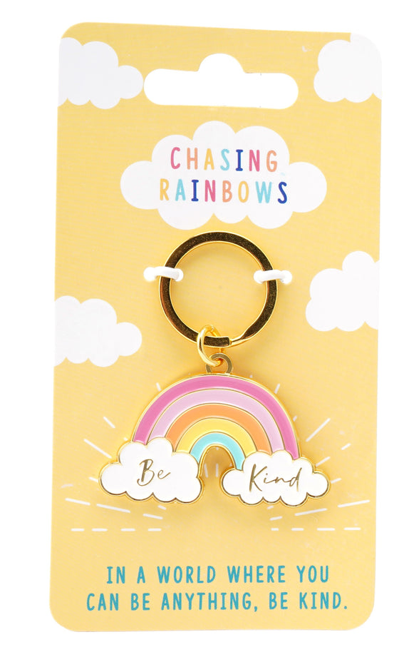 Rainbow Key Ring - Be Kind