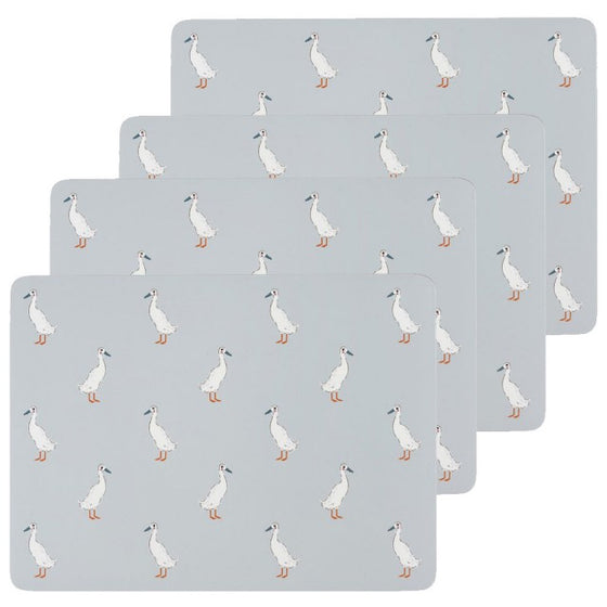 Sophie Allport Runner Duck Placemats - Set of 4