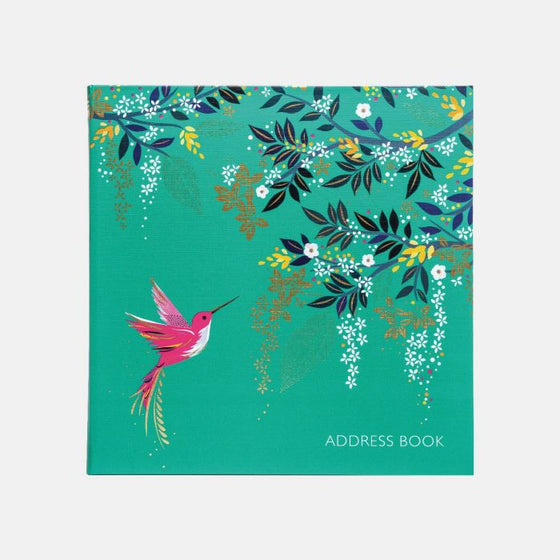 Sara Miller Hummingbird Address Book