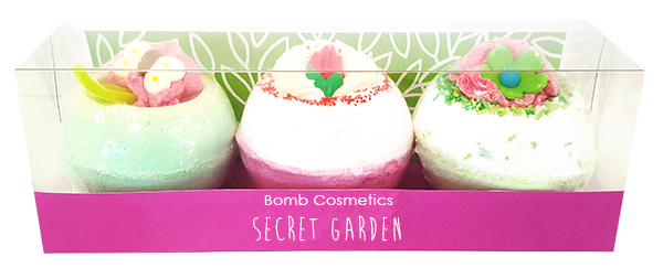 Bomb Cosmetics Secret Garden Bath Blaster Gift Pack