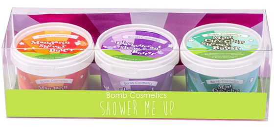 Bomb Cosmetics Shower Me Up Potted Gift Pack